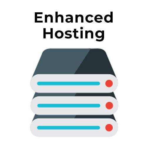 enhanced hosting plan